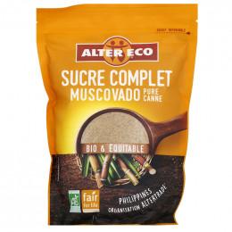 Sucre Bio et Equitable Alter Complet Muscovado Pure Canne en poudre - 500 gr