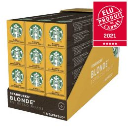 Capsule Starbucks ® by Nespresso ® Blonde Espresso Roast - 12 tubes - 120 capsules