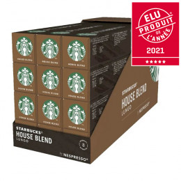 Capsule Starbucks ® by Nespresso ® House Blend Lungo - 12 tubes - 120 capsules