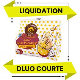 DESTOCKAGE - Dosette Senseo compatible Columbus Café Saveur Vanille Macadamia - 10 dosettes - DLUO 01/06/2021
