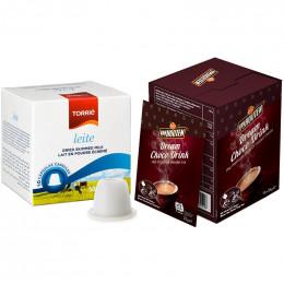 Pack chocolat chaud Van Houten pour Nespresso - 10 boissons