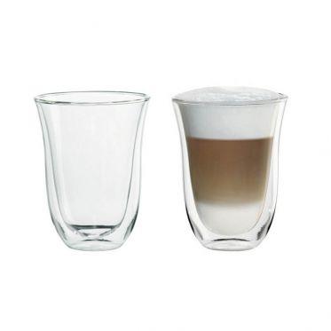Tasse en verre double paroi Delonghi Macchiato 22 cl - par 2