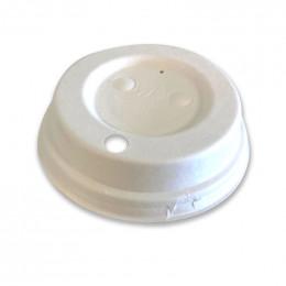 Couvercle compostable pour Gobelets 25 cl - 60 couvercles