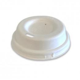Couvercle compostable pour Gobelets 10 cl - 50 couvercles