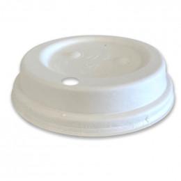 Couvercle compostable pour Gobelets 30 cl - 50 couvercles