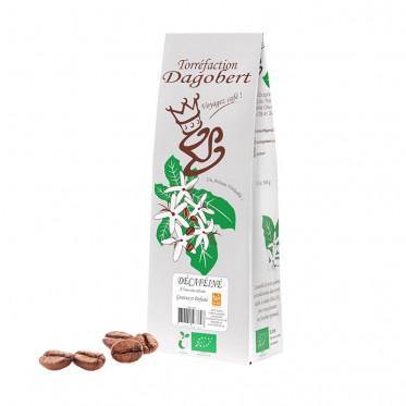Café en grains Dagobert Pérou décaféiné à l'eau - 500 gr