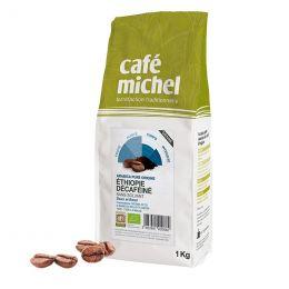 Café en Grains Bio Café Michel Éthiopie Décaféiné - 500 gr