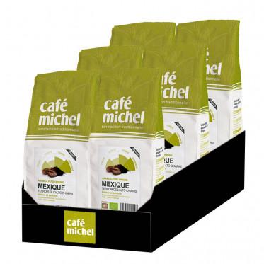 Café en Grains Bio Café Michel Mexique - 6 paquets - 6 kg