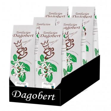 Café en grains Dagobert Ouganda équilibré - 500 gr