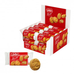 Speculoos Lotus Original Saveur Crème - 80 biscuits emballés par 5