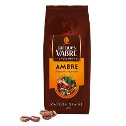 Café en Grains Jacques Vabre Professionnel Ambre - 1 Kg