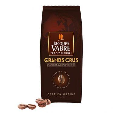 Café en Grains Jacques Vabre Professionnel Grands Crus - 1 Kg