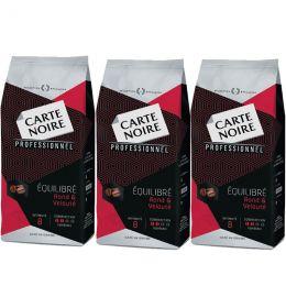 Café en Grains Carte Noire Equilibré - 3 paquets - 3 Kg