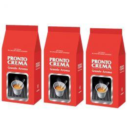 Café en Grains Lavazza Pronto Crema Grande Aroma - 3 paquets - 3 Kg