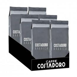Café en Grains Costadoro Arabica - 6 paquets - 6 Kg