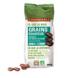 Café en Grains Bio Éthiquable Équateur - 500 gr