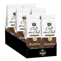 Café en grains Legal Café des Chefs Degustation - 6 paquets - 6 kg