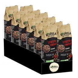 Café en Grains Bio Naturela Stretto Italiano - 12 paquets - 3 kg