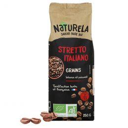 Café en Grains Bio Naturela Stretto Italiano - 250 gr