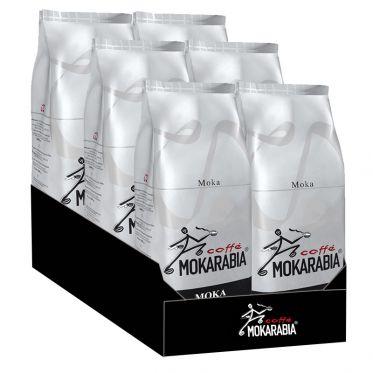 Café en Grains Mokarabia Moka - 12 paquets - 12 Kg
