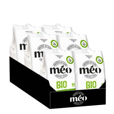 Café en Grains Bio Cafés Méo Classique - 6 paquets - 3Kg