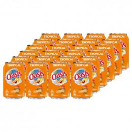 Jus de fruits Oasis Tropical canette 33cl x24