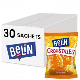 Biscuits Apéritif - Belin Croustilles Fromage Pocket - 30 paquets de 35gr