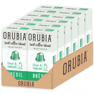 Capsule Nespresso Compatible Orubia Brésil - 10 capsules