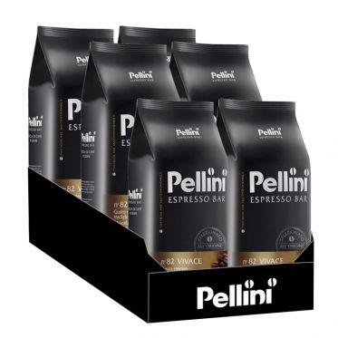 Café en Grains Pellini Espresso Bar Vivace n°82 - 6 Paquets - 6 Kg
