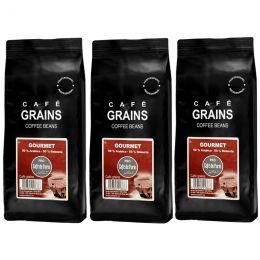 Café en Grains Café de Paris Gourmet - 3 paquets - 3 Kg