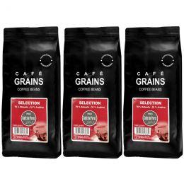 Café en Grains Café de Paris Selection - 3 paquets - 3 Kg
