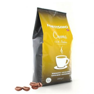 Café en Grains 100% Arabica Crema Fortisimo - 1 Kg