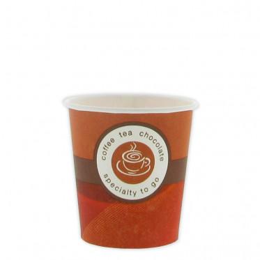 Accessoires : Gobelets au détail en Carton pour café expresso 10 cl - par 160