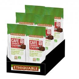 Café en Grains Bio Éthiquable Congo - 6 Kg