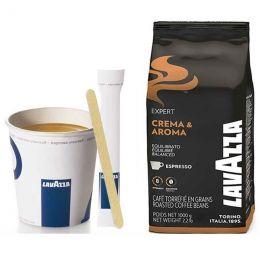 """Café en Grains Lavazza Crema & Aroma : Pack Pro """"Medium"""" - 800 boissons"""