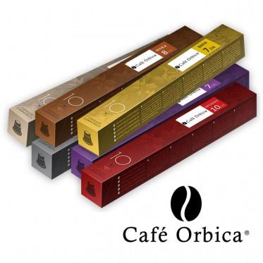 PACK Découverte et dégustation - Capsules Orubia pour Nespresso - 60 capsules
