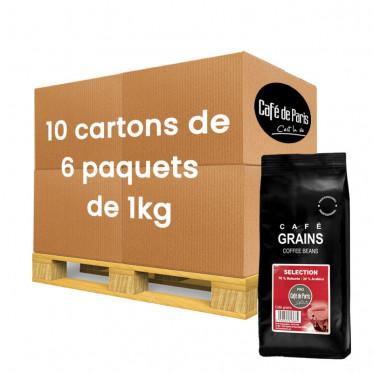 Café en Grains Café de Paris Selection - 60 paquets - 60 Kg