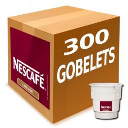Café Gobelets Pré-dosés au Carton Nescafé Noir Non Sucré : 300 boissons