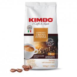 Café en Grains Kimbo Crema Intensa - 1 Kg