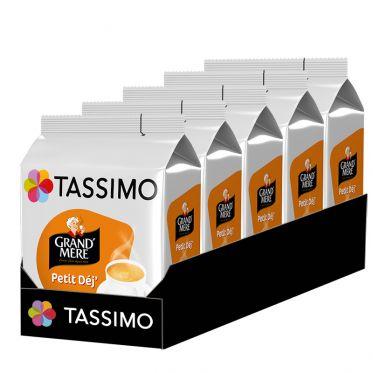 Capsule Tassimo Café Grand'Mère Petit Déj' - 5 paquets - 80 capsules