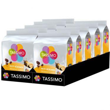 Capsule Tassimo by Tassimo Café Petit Déjeuner Classique – 10 paquets – 160 capsules