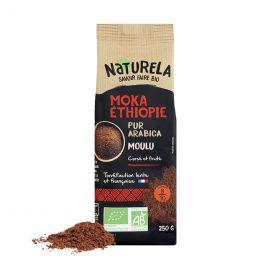 Café Moulu Bio Naturela Moka d'Ethiopie - 250 gr