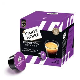 Capsule Dolce Gusto Compatible Café Carte Noire Espresso Intense - 16 capsules