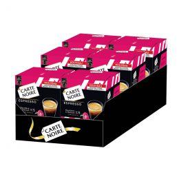 Capsule Dolce Gusto Compatible Café Carte Noire Espresso - 6 boîtes - 96 capsules
