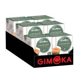 Capsule Dolce Gusto Compatible Café Gimoka Espresso Cremoso - 6 Paquets - 96 Capsules