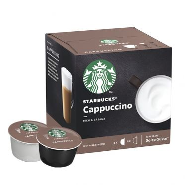 Capsule Starbucks ® by Dolce Gusto ® Cappuccino - 12 capsules - 6 boissons