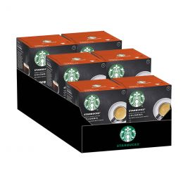 Capsule Starbucks ® by Dolce Gusto ® Colombia - 6 boîtes - 72 capsules