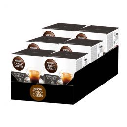 Capsules Nescafé Dolce Gusto Café Espresso Intenso - 6 boîtes - 96 capsules