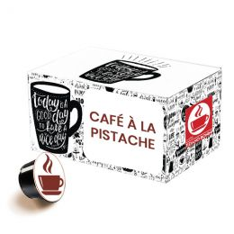 Capsule Dolce Gusto Compatible Caffè Bonini Pistacchino Café à la pistache - 32 capsules