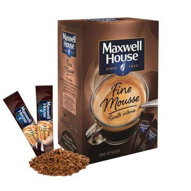 Café Soluble Maxwell House Fine Mousse - 100 sticks